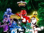 Affiche Power Rangers : Jungle Fury