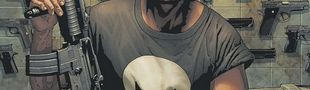 Couverture Au Commencement... - The Punisher (Marvel Deluxe), tome 1