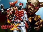 Affiche Kamen Rider X