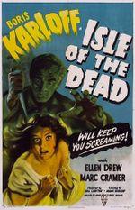 Affiche L'Île des morts