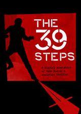 Jaquette The 39 Steps