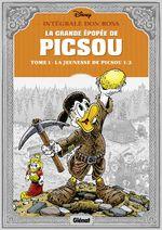 Couverture La Grande épopée de Picsou, tome 1