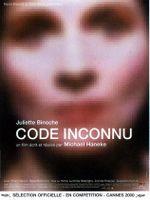 Affiche Code inconnu