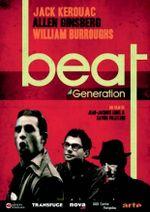 Affiche Beat Generation : Jack Kerouac, Allen Ginsberg et William Burroughs