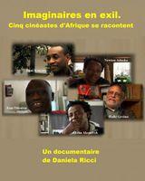 Affiche Imaginaires en exil : Cinq cinéastes d'Afrique se racontent