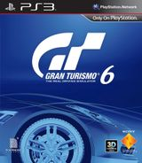 Jaquette Gran Turismo 6