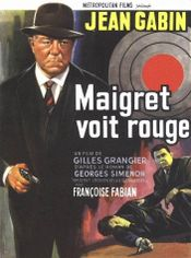 Affiche Maigret voit rouge