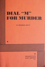 Couverture Dial M for Murder