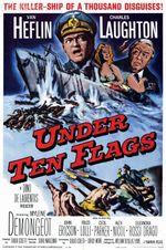 Affiche Sous dix drapeaux