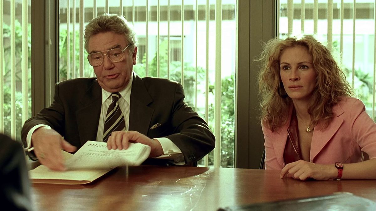 a review of the movie erin brockovich Erin brockovich (roberts) are certified fresh with a steady tomatometer of 75% or higher after a set amount of reviews (80 for wide-release movies, 40 for erin begins digging into the particulars of the case.