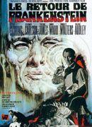Affiche Le Retour de Frankenstein