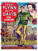 Affiche La Vie privée d'Élisabeth d'Angleterre