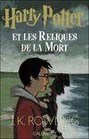 Couverture Harry Potter et les Reliques de la Mort - Harry Potter, tome 7