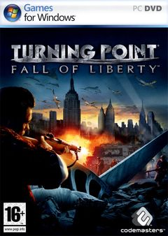 Jaquette Turning Point : Fall of Liberty