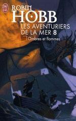 Couverture Ombres et Flammes - Les Aventuriers de la mer, tome 8