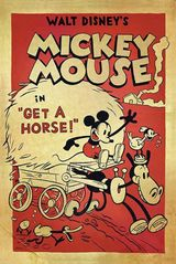 Affiche Mickey à Cheval !