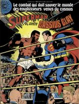 Couverture Superman contre Cassius Clay - Superman (Sagédition - Présence de l'avenir), tome 3