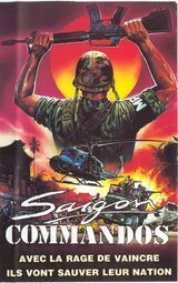 Affiche Saigon Commandos