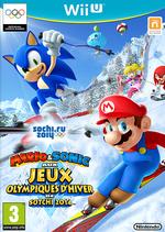 Jaquette Mario & Sonic aux Jeux Olympiques d'Hiver de Sotchi 2014