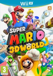 Jaquette Super Mario 3D World