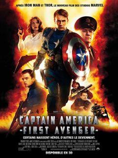 Affiche Captain America : First Avenger