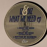 Pochette What We Need EP (EP)