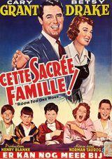 Affiche Cette sacrée famille