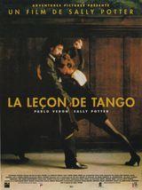 Affiche La leçon de tango