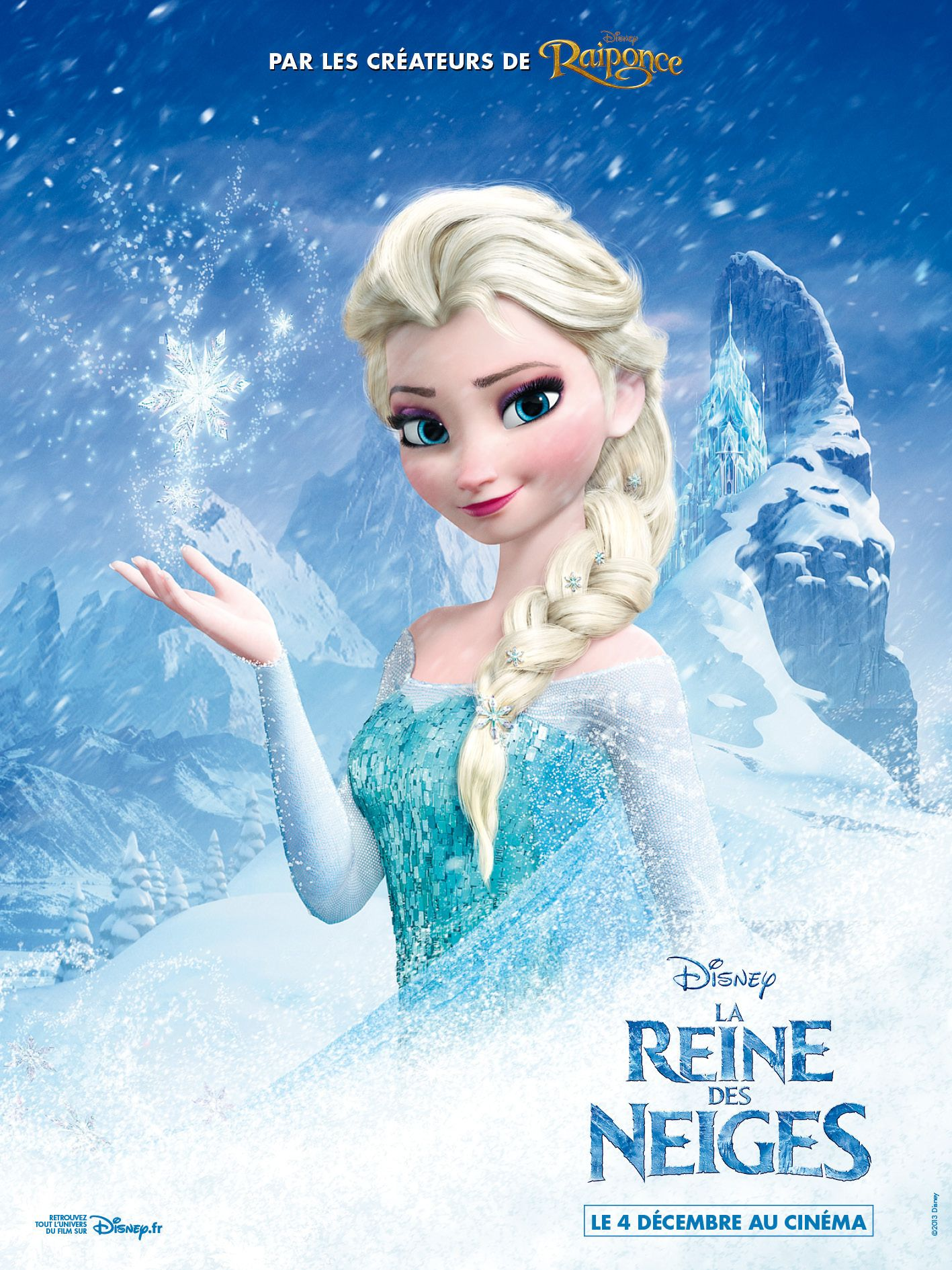 affiches posters et images de la reine des neiges 2013. Black Bedroom Furniture Sets. Home Design Ideas