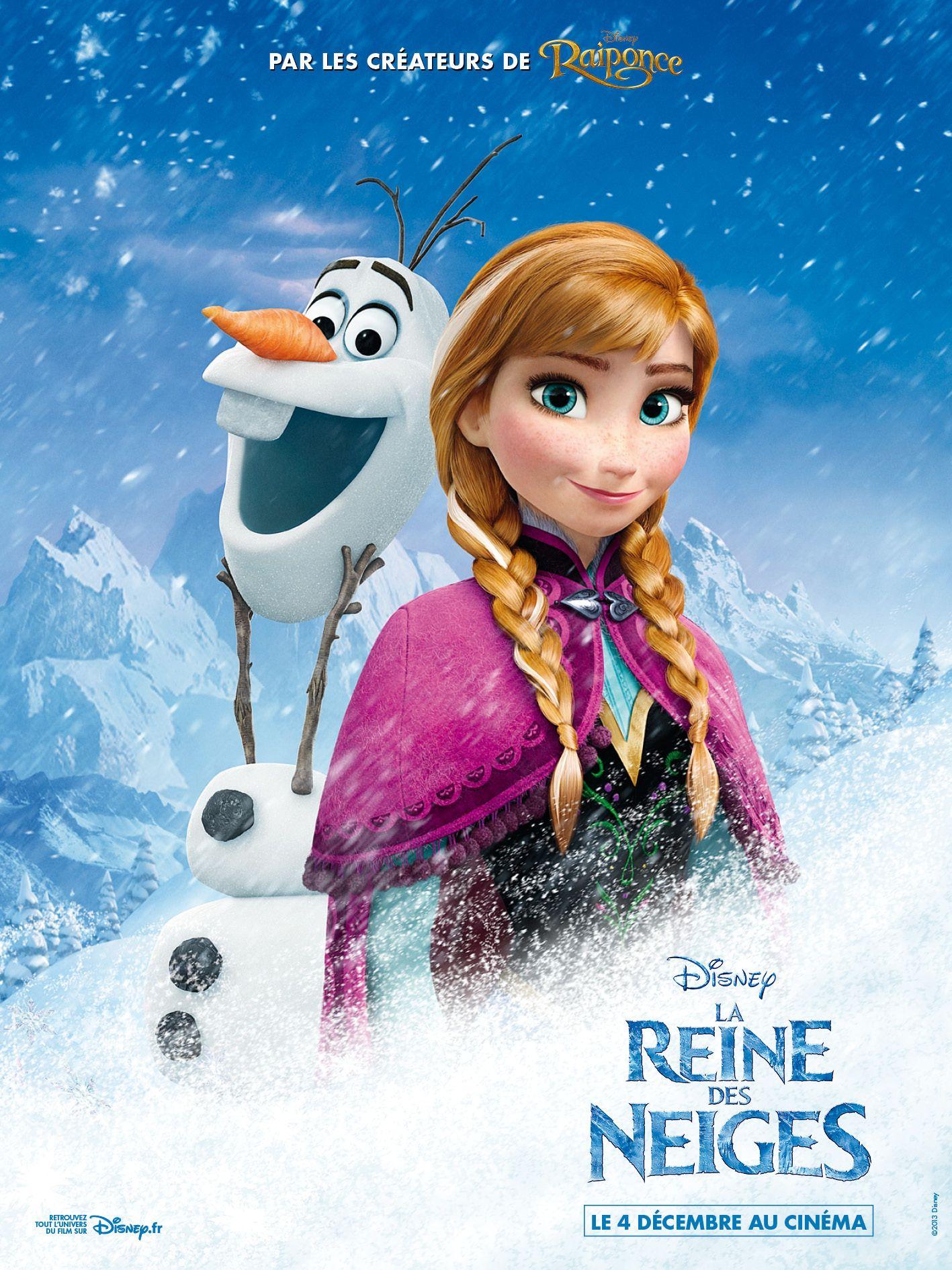 Affiches posters et images de la reine des neiges 2013 - La reine de neige ...