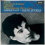 Pochette Bach: Concerto in D minor / Chopin: Concerto No. 2 in F minor
