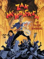 Jaquette Zak McKracken and the Alien Mindbenders
