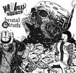 Pochette Brutal Truth / Violent Society (EP)