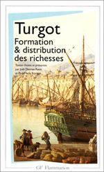 Couverture Formation et distribution des richesses