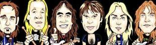 Cover Les meilleurs albums d'Iron Maiden (parce que j'espère bien qu'il y aura un top participatif un jour mais ça fait trop longtemps que j'attends alors bon !)