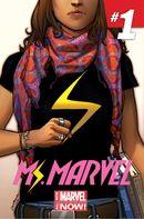 Couverture Ms. Marvel (2014 - 2015)