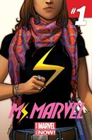 Couverture Ms. Marvel (2014 - Present)