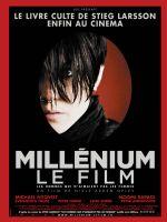 Affiche Millénium, le film : les hommes qui n'aimaient pas les femmes
