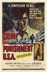 Affiche Crime and punishment USA