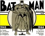 Couverture Batman: Bob Kane Vol.1 1943-1944