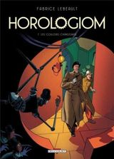 Couverture Les Couloirs changeants - Horologiom, tome 7