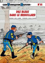 Couverture Des bleus dans le brouillard - Les Tuniques bleues, tome 52