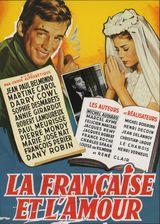 Affiche La Française et l'Amour