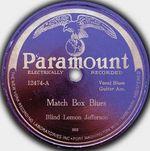 Pochette Match Box Blues / Easy Rider Blues (Single)