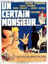 Affiche Un certain monsieur