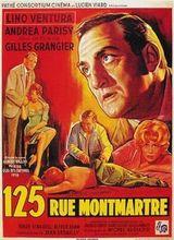 Affiche 125, rue Montmartre