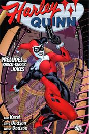 Couverture Harley Quinn : Preludes and Knock-Knock Jokes