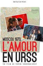 Affiche Moscou 1973 - L'Amour en URSS