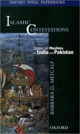 Couverture Islamic Contestations - Essays on Muslims in India and Pakistan
