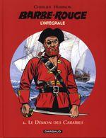 Couverture Barbe Rouge - Charlier  Hubinon,  L'intégrale 1